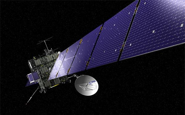 cometquest_screen Космический аппарат «Розетта» выходит из спящего режима