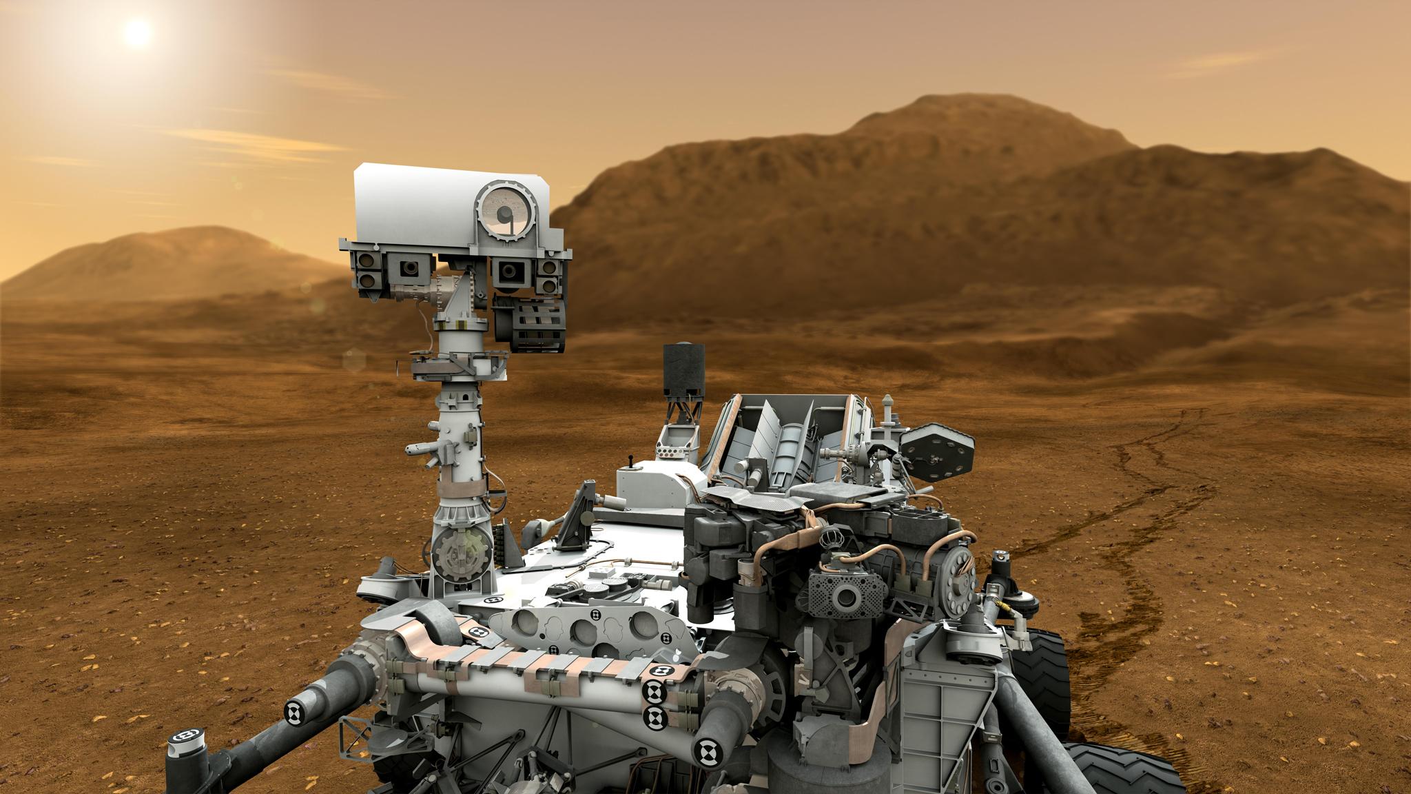 curiosity-close-up Марсоход Curiosity мог доставить на Марс земные бактерии