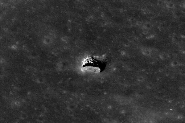 d0bb Астрономы разглядели на Луне пещеру