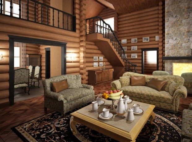 dom_derevo-620x457 Мебель в интерьере долгожителя
