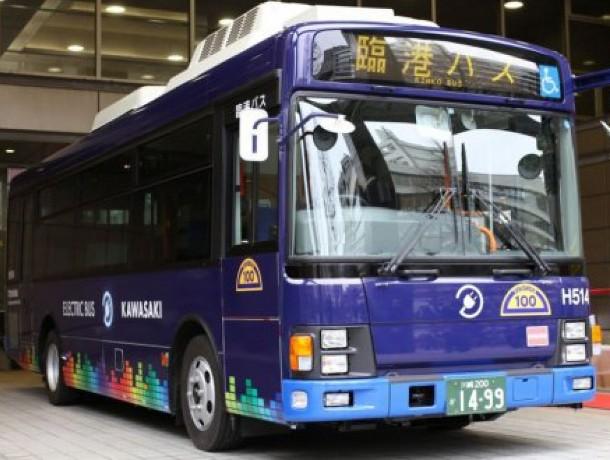 elektroavtobus-1024x1024 В Японии на маршрут вышел первый электроавтобус