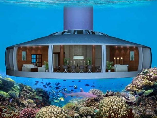 h2ome6 Американцы собираются построить жилой дом под водой