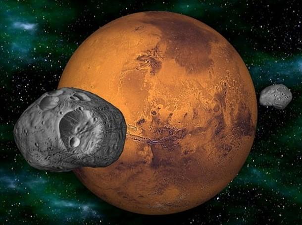 img31 У Марса могут появиться «кольца Сатурна»