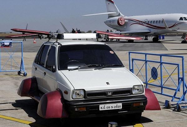 k Чудо автомобилестроения, или как индиец изобрёл летающую машину…