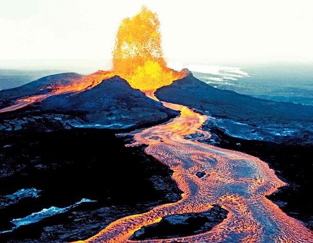 kilauea NASA исследует действующий вулкан с помощью робота