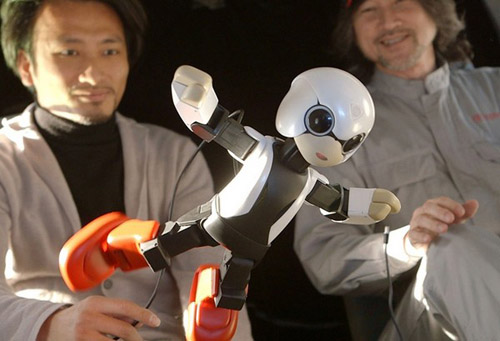 kirobo-1 В Японии создан робот-астронавт Kirobo
