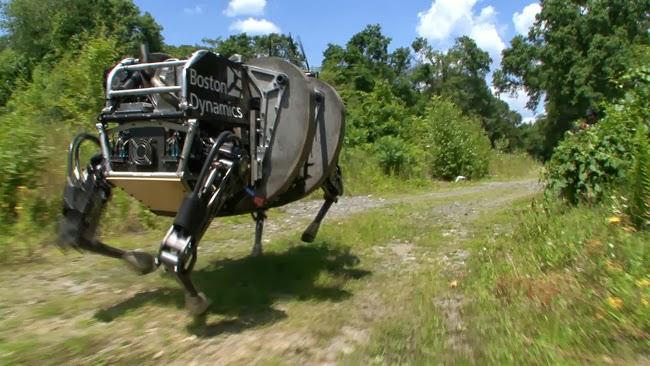 ls3 Американская пехота протестировала робота-мула