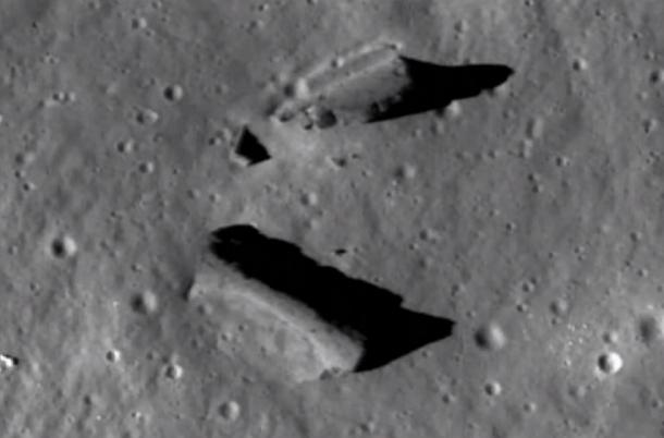 luna На Луне обнаружили руины древних сооружений