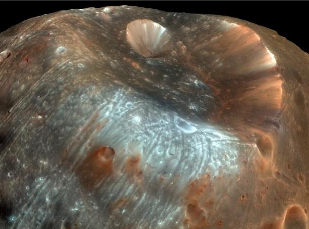 mars На Марсе ученые обнаружили крупные залежи стекла
