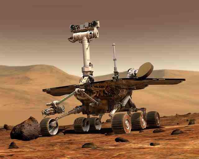 marsopportunity Марсоход Opportunity за 11 лет наколесил более 40 км.