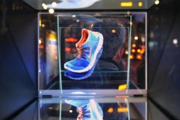 nike-holographic-ad-1 Реклама стала голографической