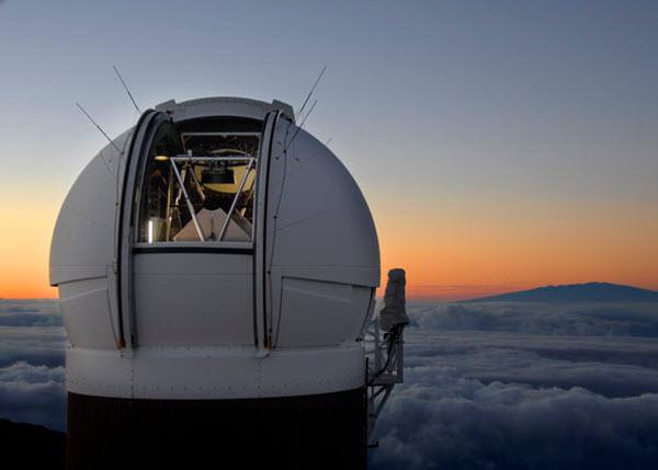 pan-starrs-ps1 19 астероидов за одну ночь смогли зафиксировать на Гавайях
