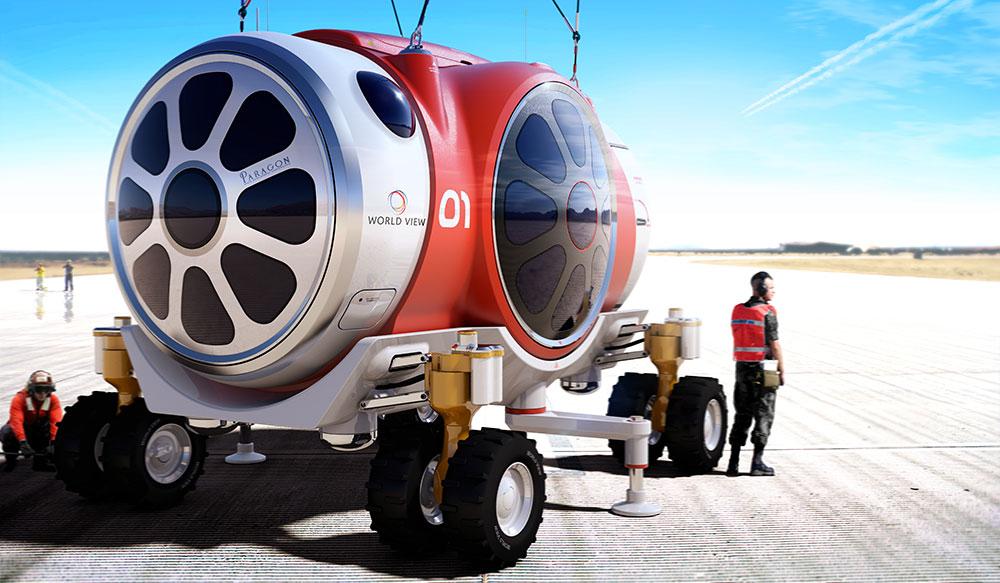 ph_capsule_3 Космических туристов запустят в стратосферу на воздушном шаре