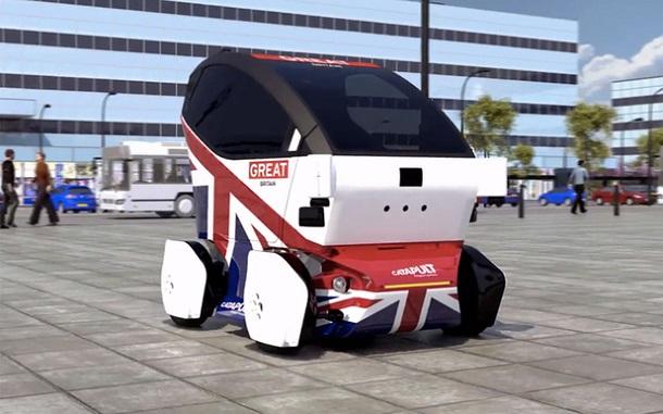 phphutox5 В Великобритании такси хотят заменить самоуправляемыми автомобилями-роботами