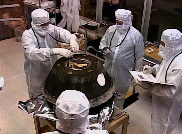 sd2a_0005 Ученые получили образцы межзвездной пыли