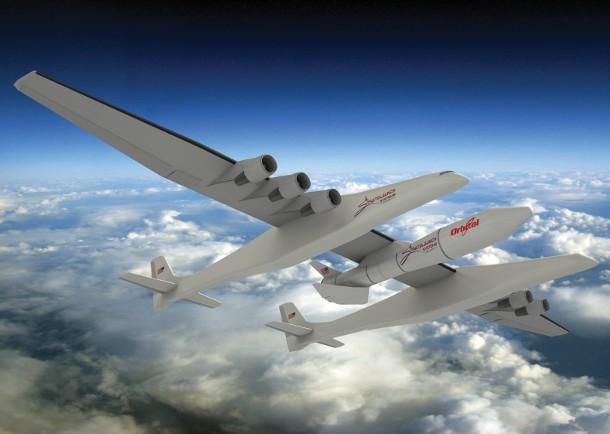 stratolaunch_lower_high-e1393424530567 Самый большой самолет в мире впервые поднимется в воздух в следующем году