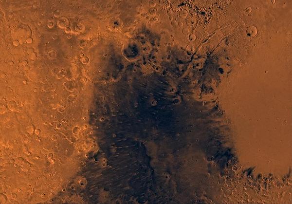 syrtis-major На Марсе были водоёмы: новые доказательства