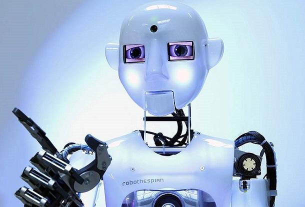tespian В Минске показали самых интересных и полезных роботов