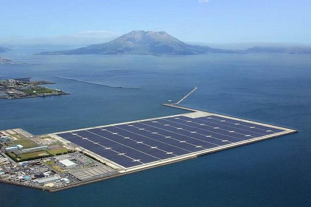 vjstrqsq Японцы собираются построить самую большую в мире плавающую электростанцию