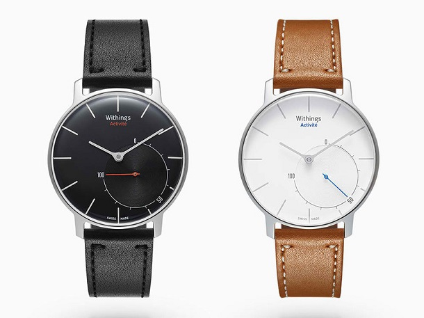 withings_activite Компания Withings выпустит «умные» швейцарские часы