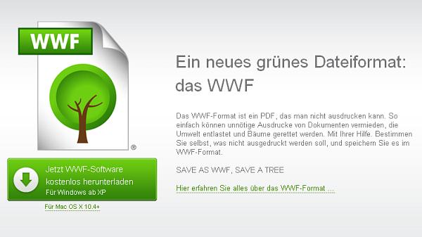 wwf «Непечатаемые» документы от защитников окружающей среды